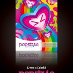 Design a Pop Style Poster in Coreldraw