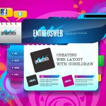 Website Layout Design in Corel Draw