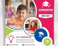 Kindergarten, Nursery and Preschool Admission Flyer Templates