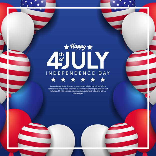 4th of July Graphics, Banners and Flyers - Free and Premium Downloads