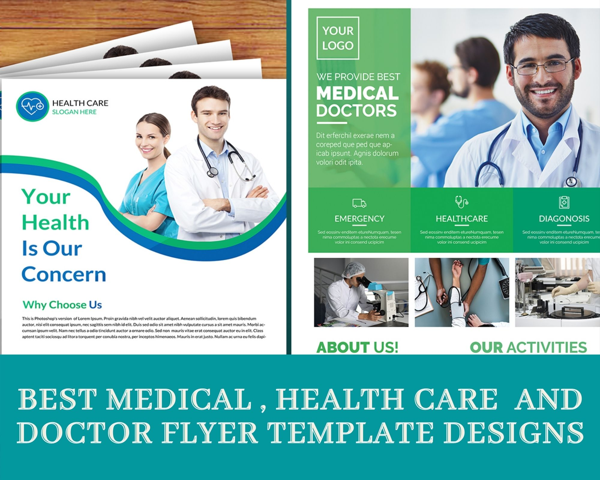 Best Medical, Healthcare and Doctor Flyer Template Designs