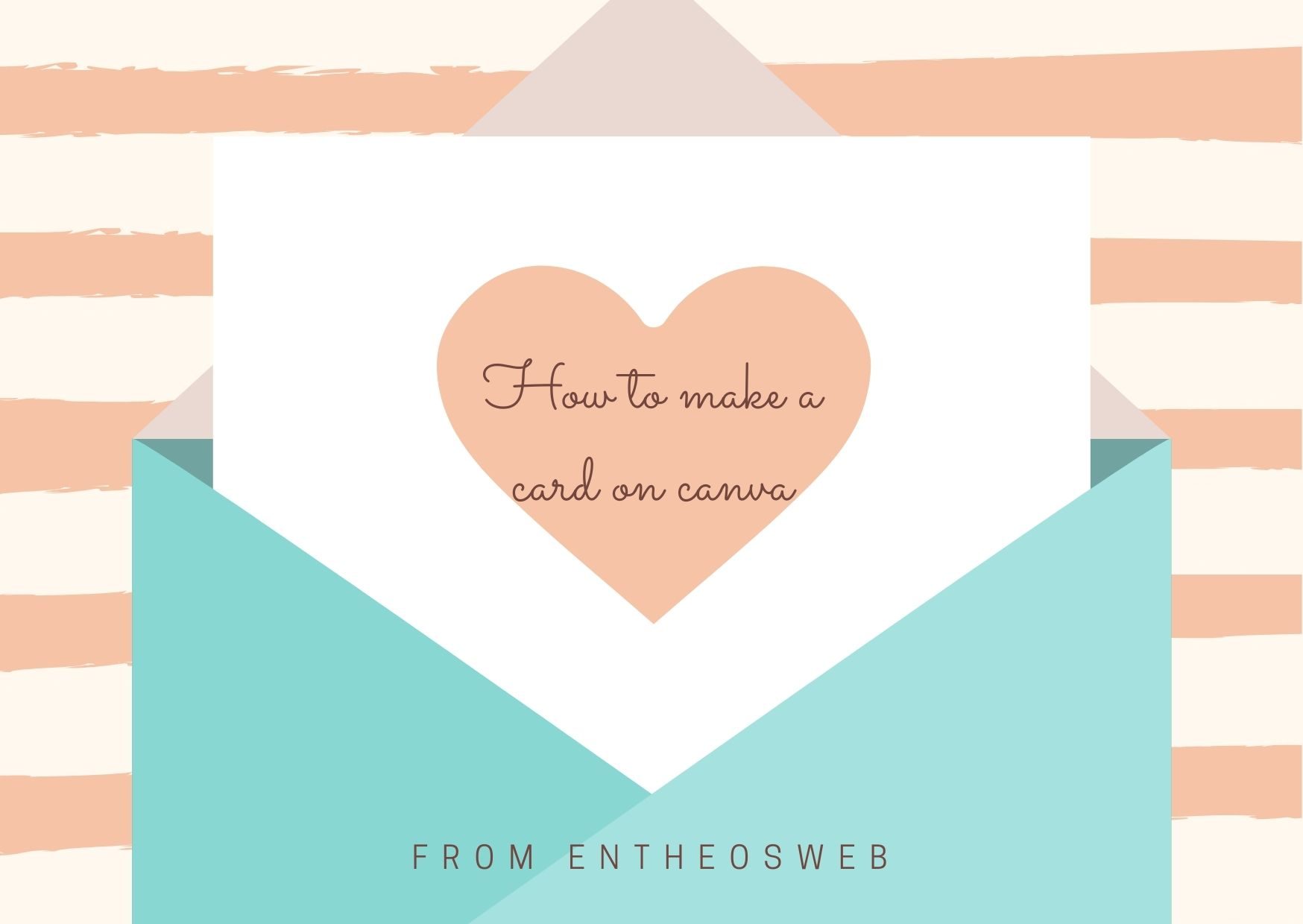 How to Make a Cute Card in Canva In 2 Minutes