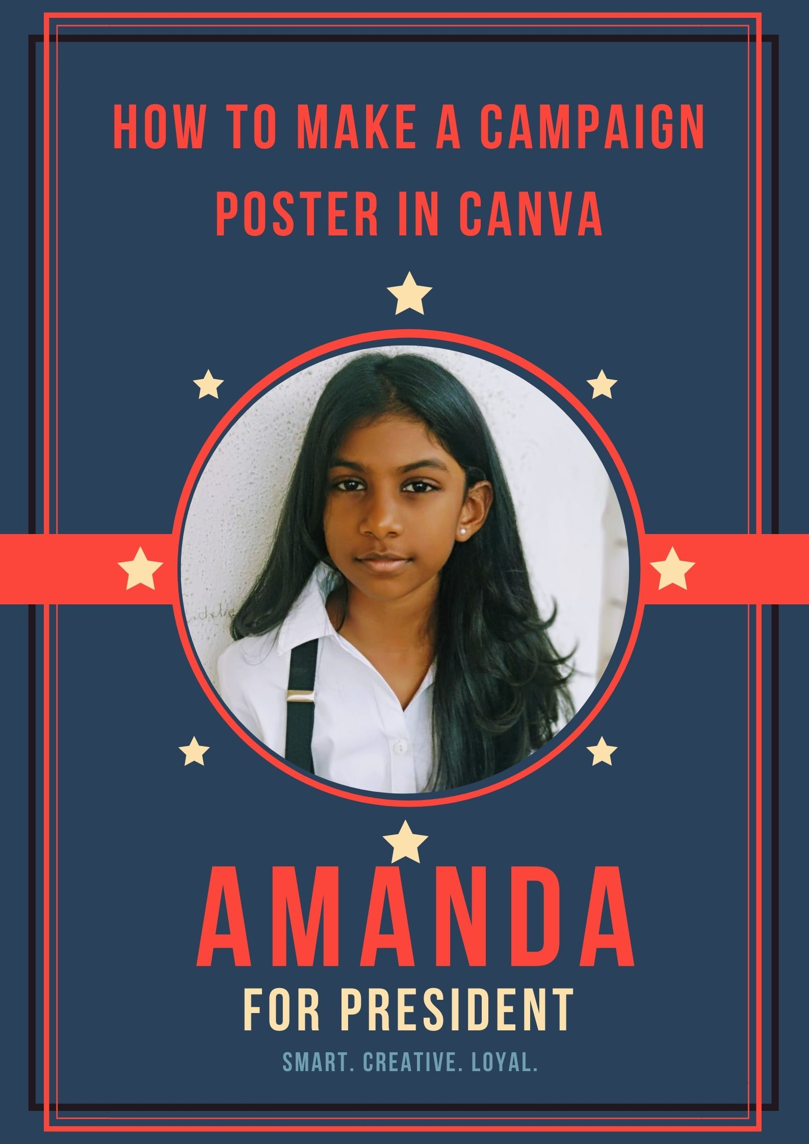 How To Make A Campaign Poster In Canva In A Minute