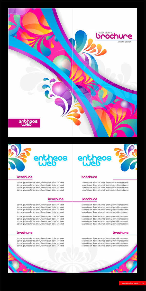 Learn How To Design A Brochure In Coreldraw Entheosweb