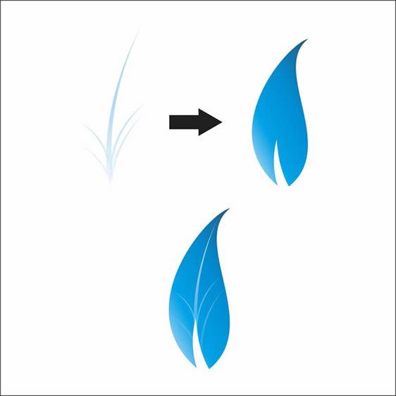 Colorful Floral Logo Design In Corel Draw | EntheosWeb