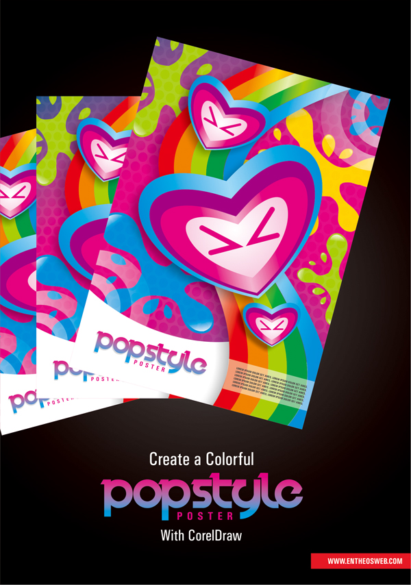 How To Design A Creative Pop Style Poster in CorelDraw